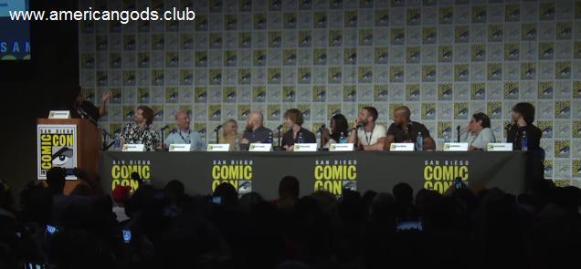 American Gods Dizisi 2016 San Diego Comic Con Paneli